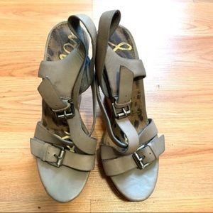 Sam Edelman Josie Wedge Sandals - 6